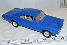 AMT 1967 PONTIAC GTO HARD TOP CAR MODEL KIT BUILT UP SHARP!
