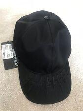 Neil Barrett Fairisle Thunderbolt Cap Hat BNWT RRP €285 Black