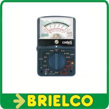 MULTIMETRO ANALOGICO AC/DC AMPERIMETRO 20K OHMIOS-VOLTIO MODELO CO-7145 BD3403