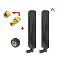 2-Pack 4G LTE External Antenna&SMA Adapter For T1114 Verizon LTE Wireless Router
