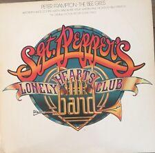 PETER FRAMPTON / BEE GEES SGT PEPPER LP & EARTH WIND & FIRE Vinyl LP