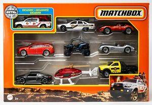 2021 Matchbox 9-Pack w/Exclusive Toyota Tacoma / Volvo V60 / '76 Corvette / MIB