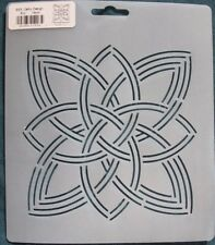 Stencil Quilting Celtic Design 5 1/2 inch 14cm quilt craft BS3 embroidery QC sew