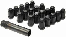 Dorman # 711-355C Matte Black 20pc Spline Drive Wheel Lug Nut Set - M12-1.50