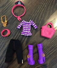 Monster High Doll Clothing, Shoes & Accessories Lot Complete Clawdeen Outfit