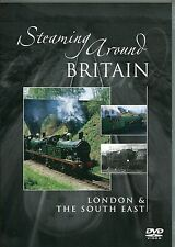 STEAMING AROUND BRITAIN DVD LONDON & THE SOUTH EAST