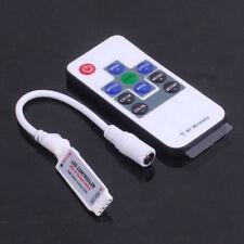 3528 5050 RGB LED Strip Light Mini 10 Key IR / RF Remote Wireless Control