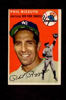 1954 Topps Baseball #17 Phil Rizzuto New York Yankees HOF