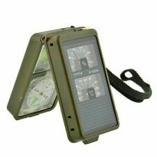 Military Multifuncion 10 in 1 Compass Magnifier Tactical Camping Equipment Tool