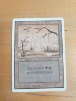 Magic The Gathering - SWAMP - 2ED V2 unlimited used card land MTG