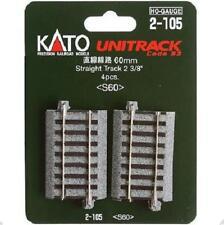 Kato 2-105 Rail Droit / Straight Track 60mm 4pcs - HO