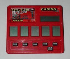Radica DRAW POKER Red Royal Flush 5000 #1400 R4818