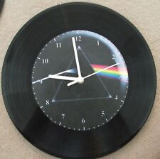 """Pink Floyd  DSOM 12"""" wall clock, upcycled"""