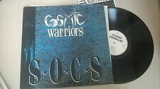 LP Indie Cosmic Warriors - SOCS (7 Song) LAND SPEED REC / + Insert