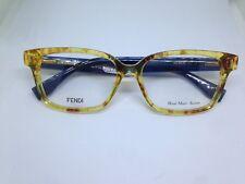 FENDI FF0035 7OC occhiali da vista donna hand made acetate Italy woman glasses