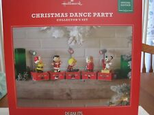 2017 HALLMARK SPECIAL EDITION PEANUTS CHRISTMAS DANCE PARTY COLLECTORS SET--NEW