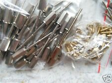 26 PCs Silver Color Violin bow Screw 4/4 Violin bow parts