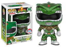 Funko Pop Green Ranger Metallic # 360 Power Rangers NYCC 2016 Vinyl Figure