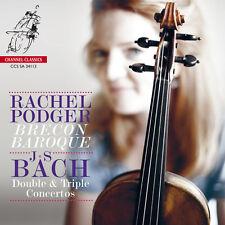 Rachel Podger, J.S. - Double & Triple Concertos [New SACD] Hybrid SACD