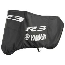 Yamaha YZF-R3 Motorcycle Cover in Black w/ Logo-Fits 2015 & 2017-Genuine Yamaha