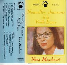 "K7 AUDIO  (TAPE)  NANA MOUSKOURI ""NOUVELLE CHANSONS DE FRANCE"" (MADE IN JAPAN)"