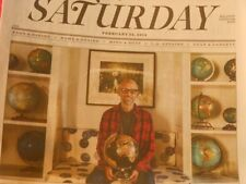 LA TIMES SATURDAY FEBRUARY 22 2014 MOBY'S WORLDS MOBY