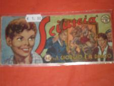 SCIUSCIA STRISCIA TORELLI 1° SERIE N°42 -a - ORIGINALE del 1950 editore torelli
