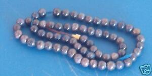 "Lapis 15"" Color Enhanced Beads Vintage Blue Color 3/8"""