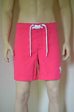 Abercrombie & Fitch Morgan Montaña Swim Board Shorts Rosa M RRP £ 54