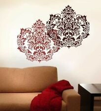 Damasque Reusable Wall Stencil - LARGE - Wall Stencils for Easy DIY Home Decor