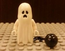 Lego NEW 1x Glow in the Dark GHOST w/ Ball And Chain Minifigure Halloween 30201