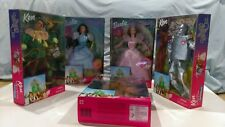 Set Of 5 Wizard of Oz Barbie Dolls 1999 NEW in Box