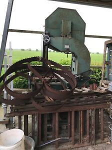 Forestor 900 band saw, sawmill for forestry