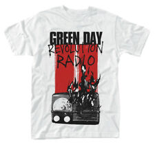 Green Day 'Radio Combustion' t-Shirt - NEW & OFFICIAL!