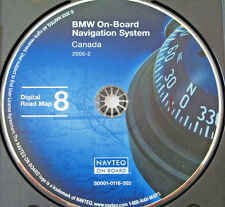 2002 BMW 745i 745Li NAVIGATION MAP NAV GPS DISC CD 8 CANADA BC AB SK MB NS ON QC