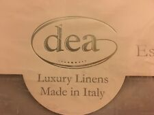 Dea Light/Medium Grey 4Pc King Sheet Set 600 Thread Count Made In Italy Bnip