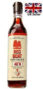 Red Boat Premium 40N Fish Sauce, 500 ml (17 oz.)