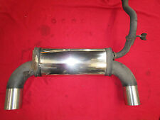 Mohr 2x114mm Endschalldämpfer Honda CRX ED9 EE8 Civic ED7 EE9 evtl ED6 Bj: 88-92