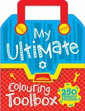 My Ultimate Colouring Toolbox (Ultimate Shaped Colouring) Book The Cheap Fast