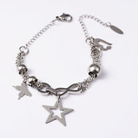"""9"""" Anchor Stainless Steel Ankle Bracelet with 2"""" extension Lobster Claw Closure"""