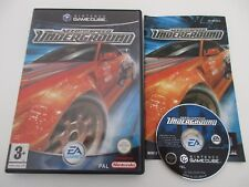 NEED FOR SPEED UNDERGROUND - NINTENDO GAMECUBE - Jeu GAME CUBE Complet PAL Fr