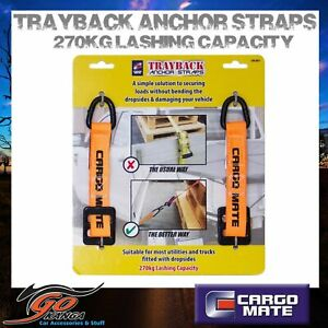 Motorcycle Tie down anchor point straps 270kg Secure Bike suits Trailer Trayback