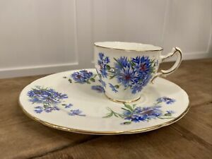 Hammersley Vintage Tea Cup & Snack Plate Saucer NEW Never Used ONLY Displayed