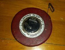Lufkin tape measure chrome clad leader 50ft