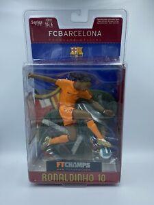 FT CHAMPS 6inch Ronaldinho Figure Orange Barcelona Kit