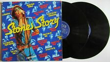 2 LP THE ROLLING STONES-STONES STORY-28 TRACKS-DECCA-664507-NETHERLANDS