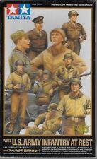 Tamiya WWII US Armée Infanterie au repos 1/48 32552 9 Figurines &