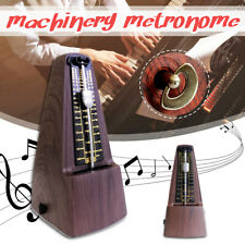 UK Metronome Mechanical Music Timer Wood Vintage Classical for Piano Guitar