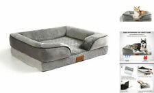 Orthopedic Dog Bed for Dogs Large Dogs, Pet Bed Mattress Chaise Medium Flannel