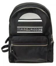 New Marc Jacobs Medium Trek Nylon Backpack black sporty logo bag M0014034
